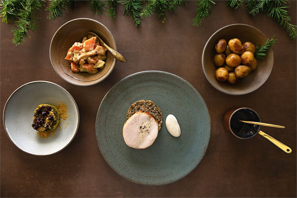 simon rogan festive feast