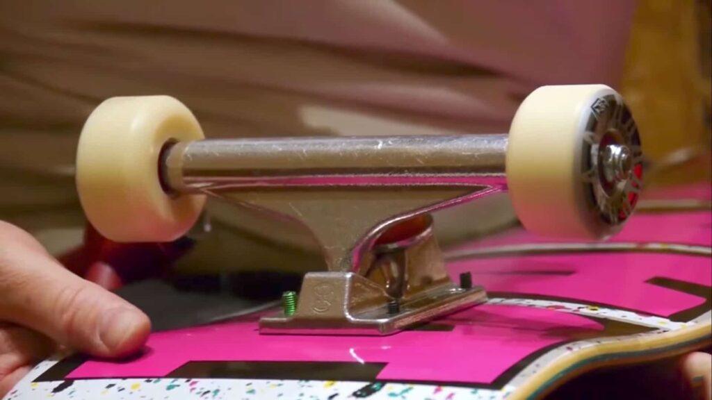 charity skateboard build